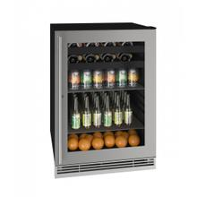 """View Product - Hbv124 24"""" Beverage Center With Stainless Frame Finish (115v/60 Hz Volts /60 Hz Hz)"""