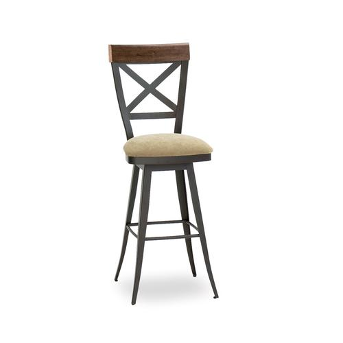 Kyle Swivel Stool (distressed Wood)
