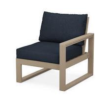 View Product - EDGE Modular Right Arm Chair in Vintage Sahara / Marine Indigo