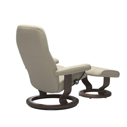 Stressless By Ekornes - Stressless® Consul (L) Classic chair with footstool