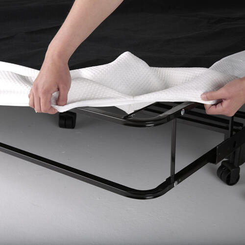 Leggett and Platt - Simple Life Compact Folding Mattress Foundation with No-Tool Assembly, King