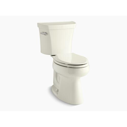 Kohler - Biscuit Two-piece Elongated 1.6 Gpf Chair Height Toilet