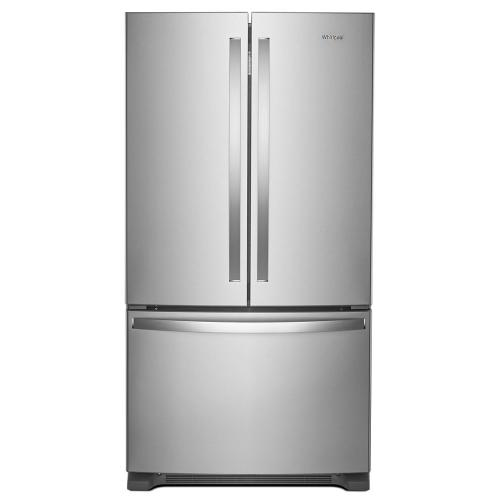 Whirlpool WRF540CWHZ   36-inch Wide Counter Depth French Door Refrigerator - 20 cu. ft.