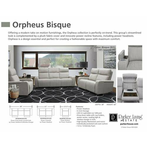 Parker House - ORPHEUS - BISQUE Power Reclining Collection