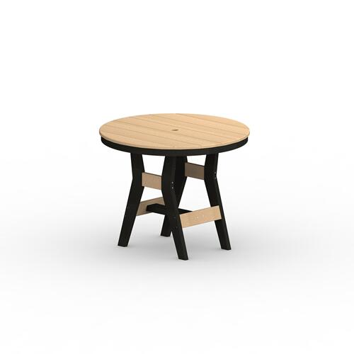 "Harbor 38"" Round Table - Counter"