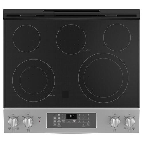 """GE Appliances - GE® 30"""" Slide-In Electric Convection Range with No Preheat Air Fry"""