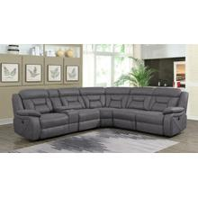 See Details - Camargue Casual Grey Motion Sectional