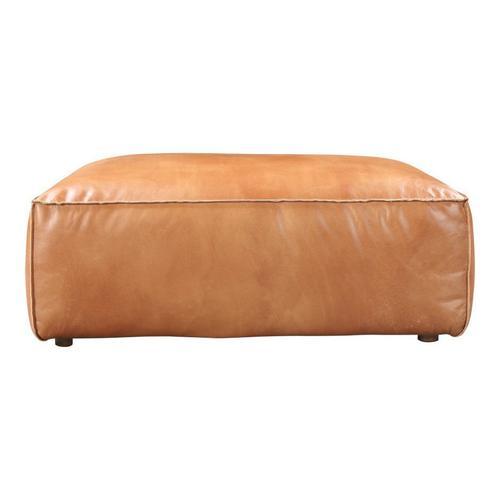 Moe's Home Collection - Luxe Ottoman Tan