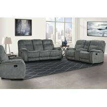 See Details - COOPER - SHADOW GREY Manual Reclining Collection