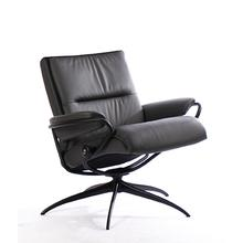 Stressless Tokyo Low Back Swivel Recliner with Standard Height Star Base