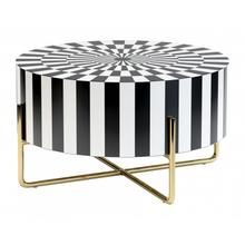 See Details - Thistle Coffee Table Black & White