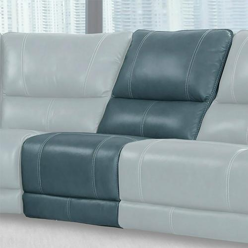 WHITMAN - VERONA AZURE - Powered By FreeMotion Power Cordless Armless Recliner