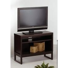 Athena TV Stand - Dark Chocolate Finish