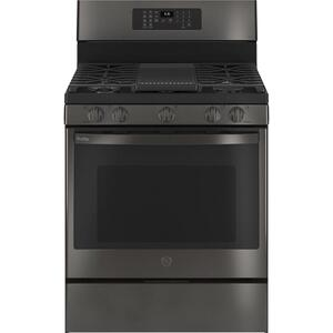 "GE Profile™ Smart 30"" Free-Standing Self Clean Gas Range with No Preheat Air Fry Product Image"