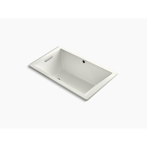 "Dune 60"" X 36"" Drop-in Bath With Bask Heated Surface and End Drain"