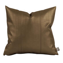 "Pillow Cover 16""x16"" Luxe Bronze"