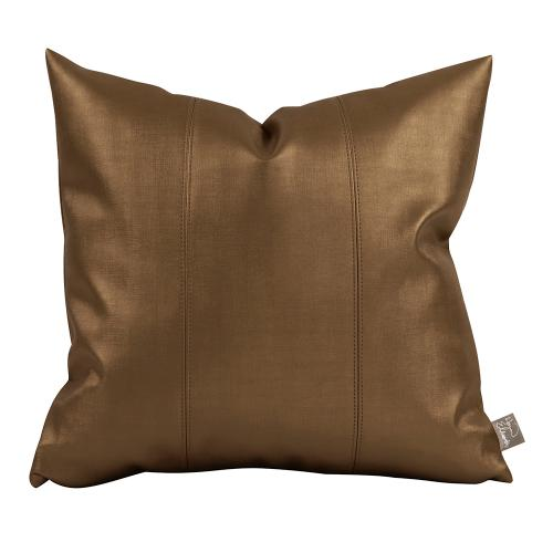 """Pillow Cover 16""""x16"""" Luxe Bronze"""