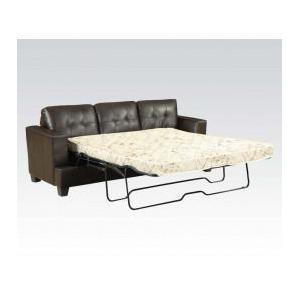 Acme Furniture Inc - Brown Bnd L. Sofa W/q. Sleeper