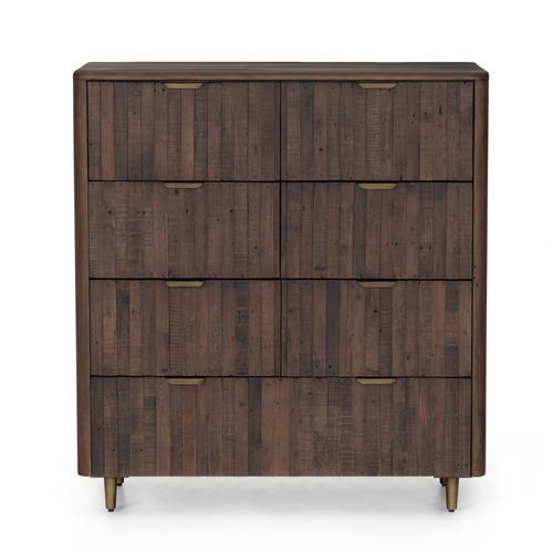 Lineo 7 Drawer Dresser-rustic Saddle Tan