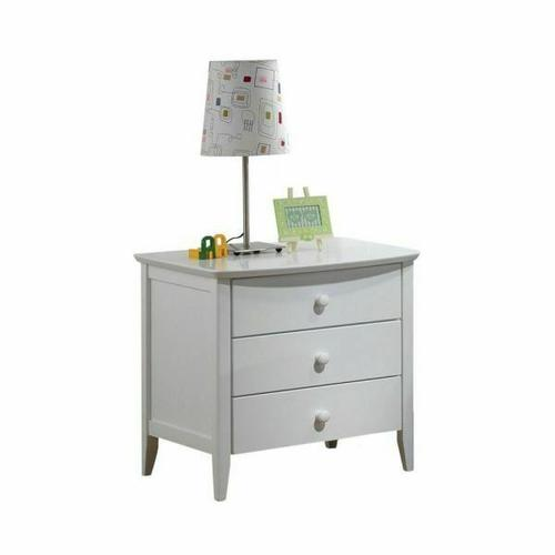 ACME San Marino Nightstand - 09158 - White