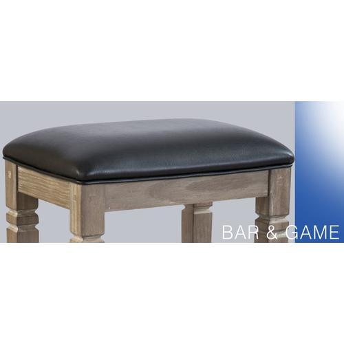 "Sunny Designs - 30""H Pinehurst Backless Stool, Cushion Seat"