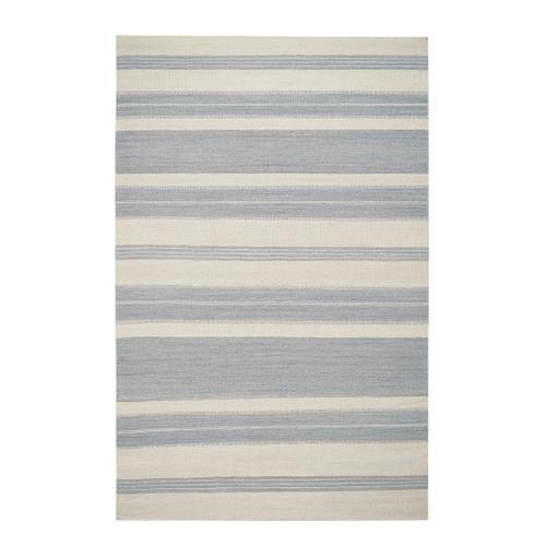 Puhalo Stripe Oslo Gray Flat Woven Rugs