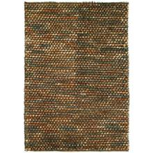 View Product - Pebble Shag Brown/Multi 2x3