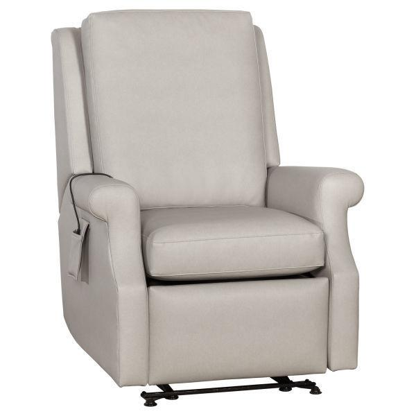 Senior Living Solutions Greek Key Arm Power Wall Hugger Recliner