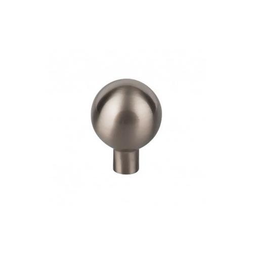 Brookline Knob 1 1/8 Inch - Brushed Satin Nickel