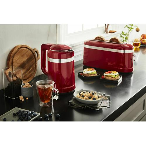 Gallery - 2 Slice Long Slot Toaster with High-Lift Lever - Empire Red