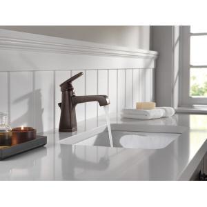 Delta Faucet Company - Venetian Bronze Single Handle Bathroom Faucet