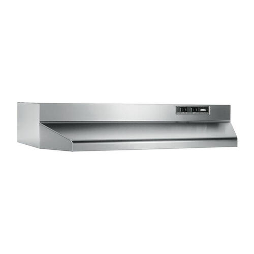 "24"", Stainless Steel, Under-Cabinet Hood, 160 CFM"