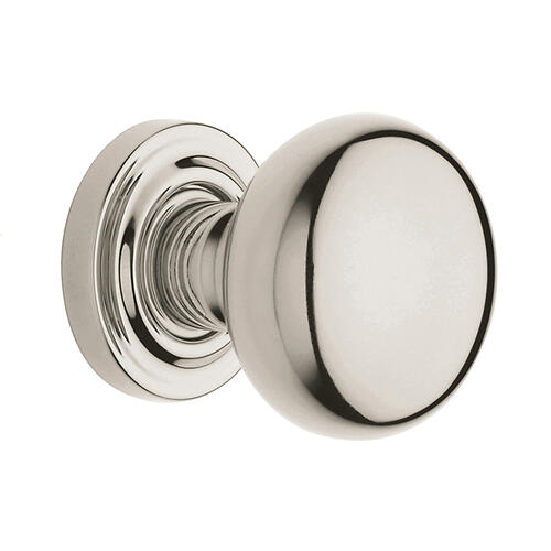 Polished Nickel with Lifetime Finish 5000 Estate Knob