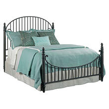 View Product - Weatherford Queen Heather Catlins Metal Bed