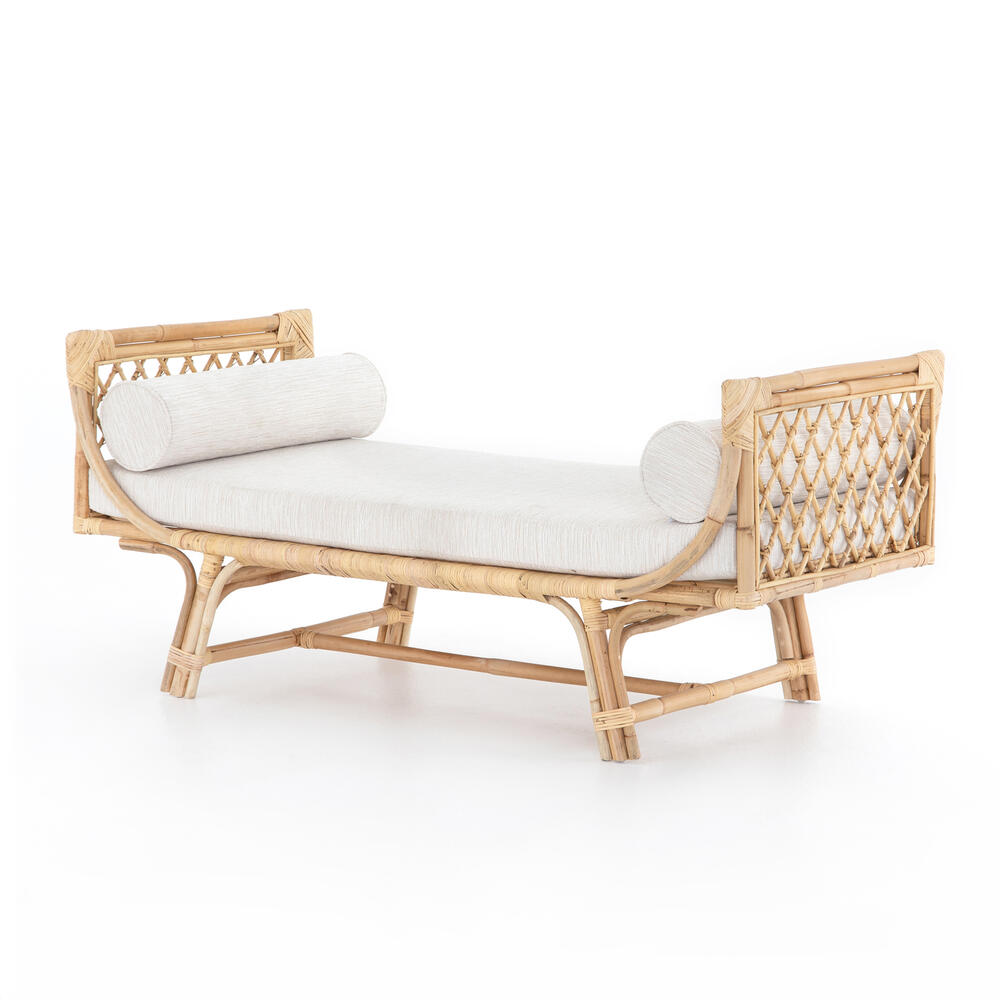 Natural Rattan Finish Marina Chaise