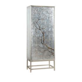 2-Door Tall Wine Cabinet