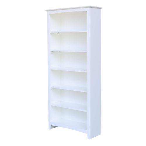 72'' H Shaker Bookcase