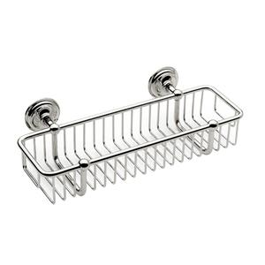 "Polished Chrome 12"" Toiletry Basket Product Image"