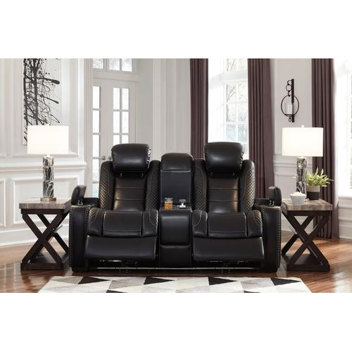 Party Time PWR REC Loveseat/CON/ADJ HDRST