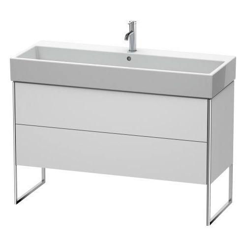 Product Image - Vanity Unit Floorstanding, White Satin Matte (lacquer)