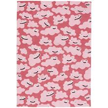 View Product - Up In the Air-Cloud People Bubblegum - Rectangle - 7' x 9'