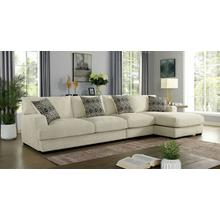 See Details - Kaylee Large L-shaped Sectional (right Chaise)