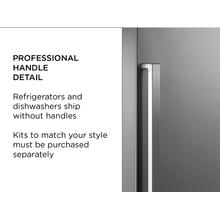 "Handle kit for 36"" French Door refrigerator - Professional Series - Built-in Cooking Style"