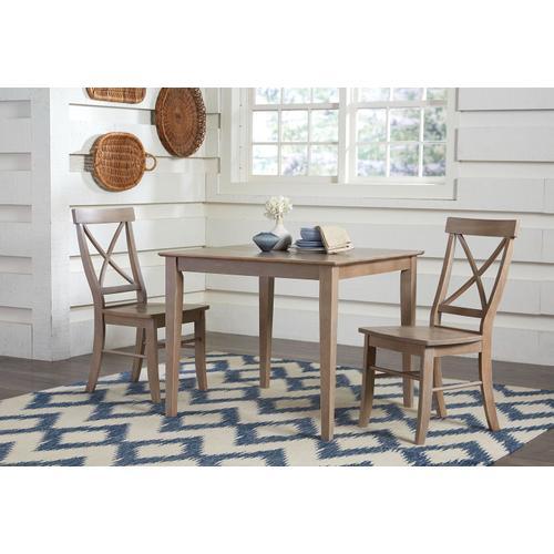 John Thomas Furniture - X-Back Chair inTaupe Gray