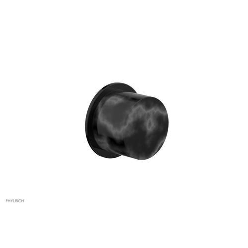 BASIC II Cabinet Knob - Marble 230-92 - Gloss Black