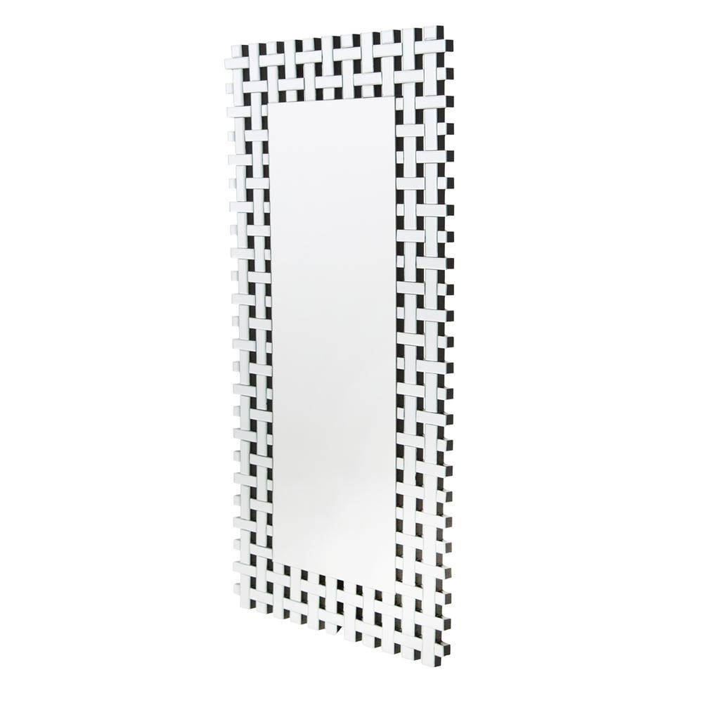 See Details - Rectangular Wall Mirror 8575
