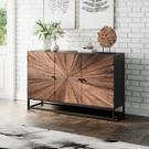 Astral Plains Reclaimed 3 Door Accent Cabinet Product Image