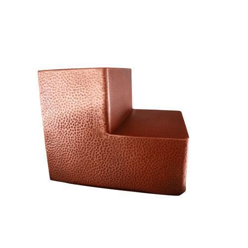 Hammered Copper Steps