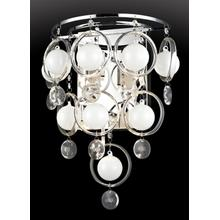 See Details - Crystal Wall Lamp, C/crystals, Type Jc/g4 20wx6