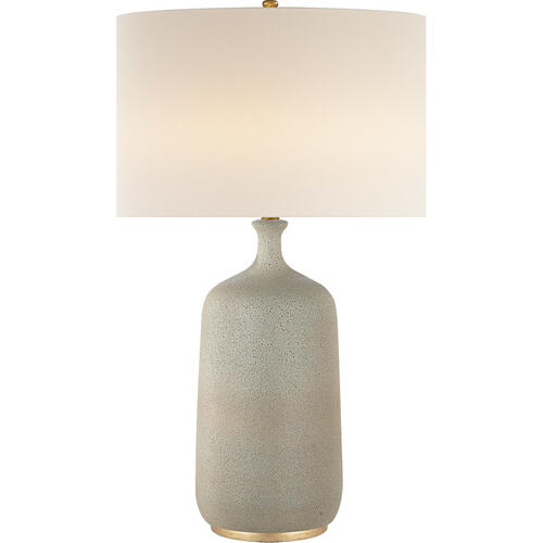 AERIN Culloden 33 inch 150 watt Volcanic Ivory Table Lamp Portable Light